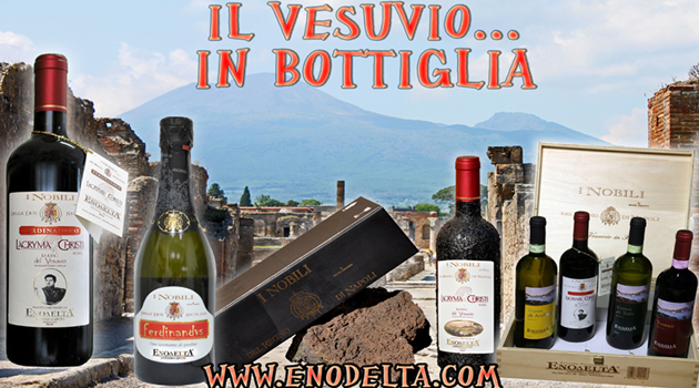 THE VESUVIO IN BOTTLE